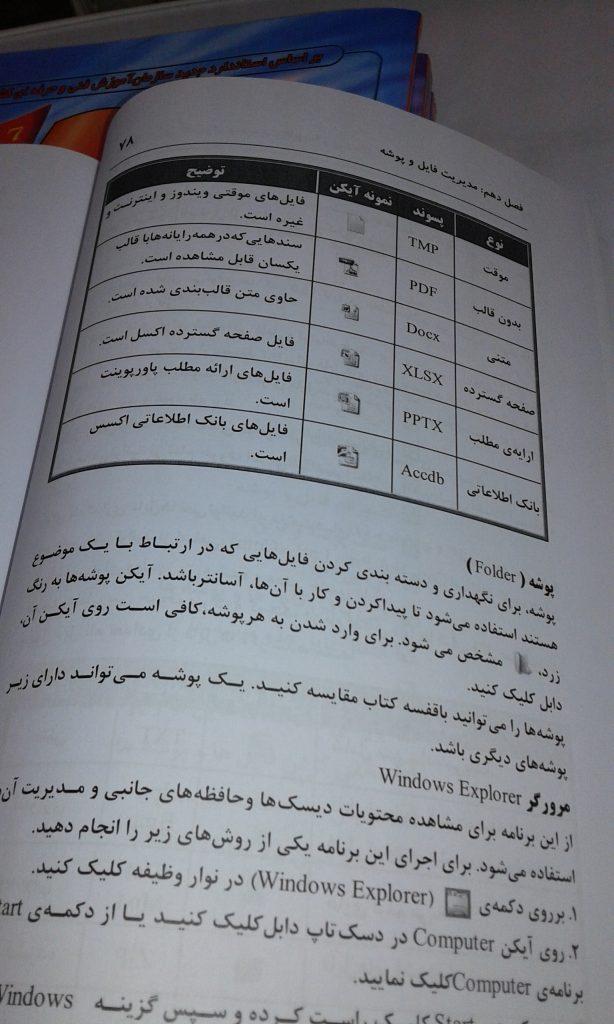 نمونه کتاب چاپ شده دیجیتال در انتشارات اودیسه