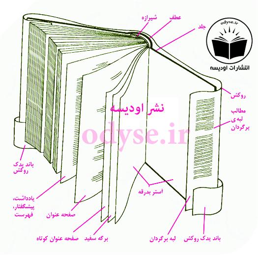 جلد کتاب در انتشارات اودیسه